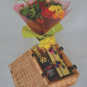 French Champagne hamper