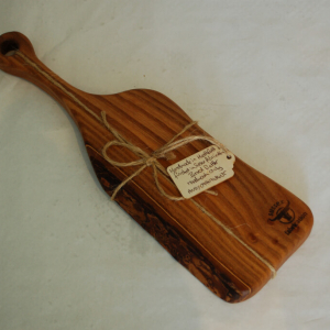 Small paddle food board